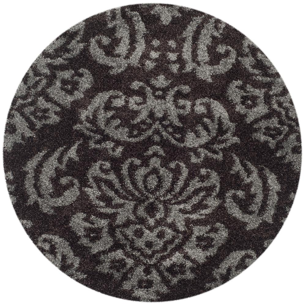 handmade dimensional hand shag gold vibrant rug products carved area x with brown design