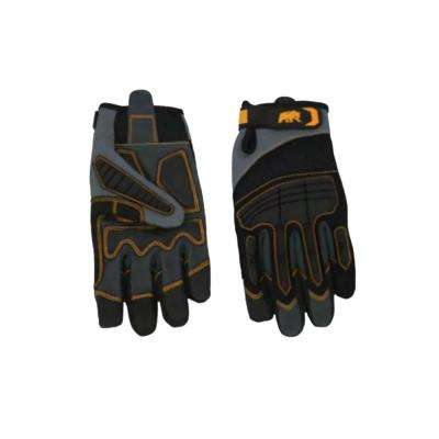 Large Black X-Shield Performance Gloves (1-Pack)