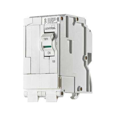 100 Amp, 2-Pole Plug-On Standard Branch Circuit Breaker, 120/240 VAC