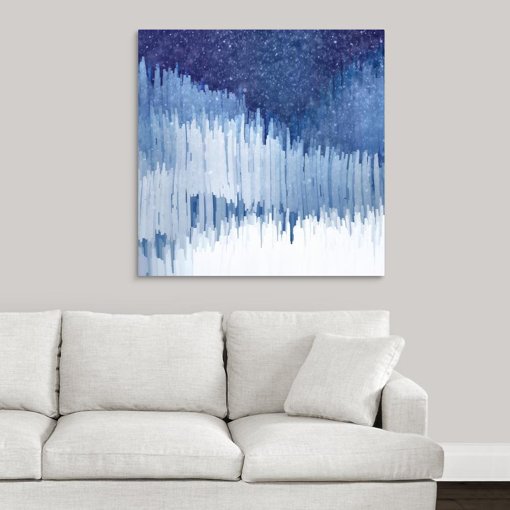 """""""Snow"""" by Ursula Abresch Canvas Wall Art"""