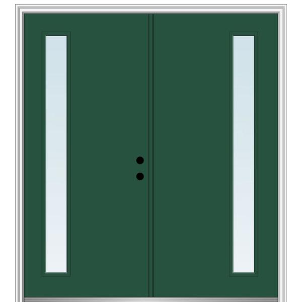 Reviews For Mmi Door 64 In X 80 In Viola Left Hand Inswing 1 Lite Clear Low E Painted Fiberglass Smooth Prehung Front Door Z0348672l The Home Depot