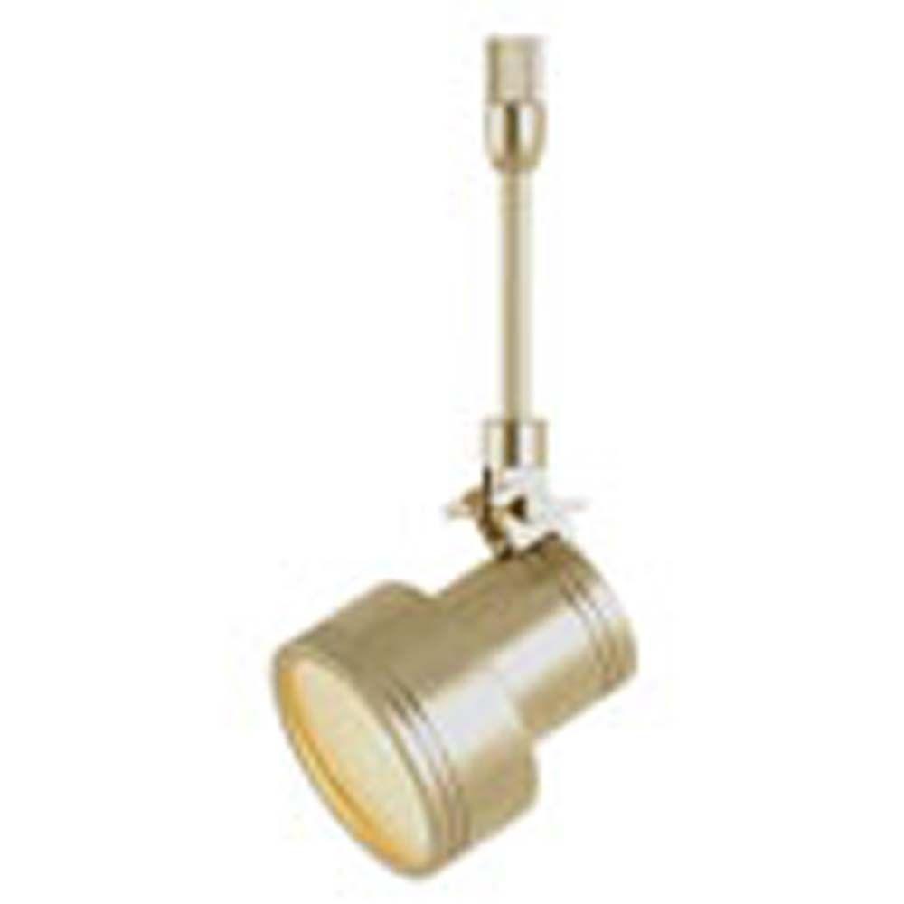 Filament Design Spectra 1-Light Matte Satin Nickel Halogen Track Light