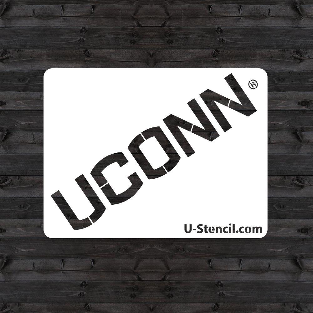 """Uconn"" Mini Stencil"