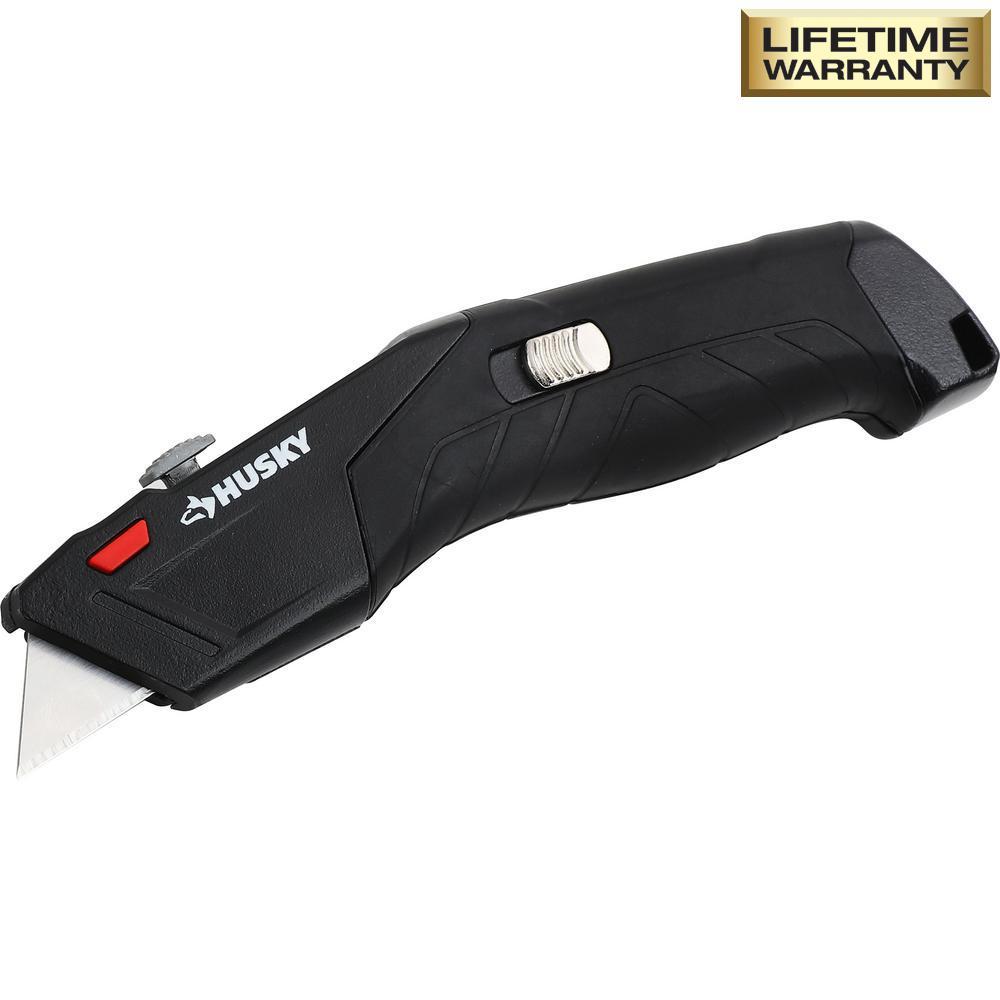 Auto-Loading Retractable Utility Knife