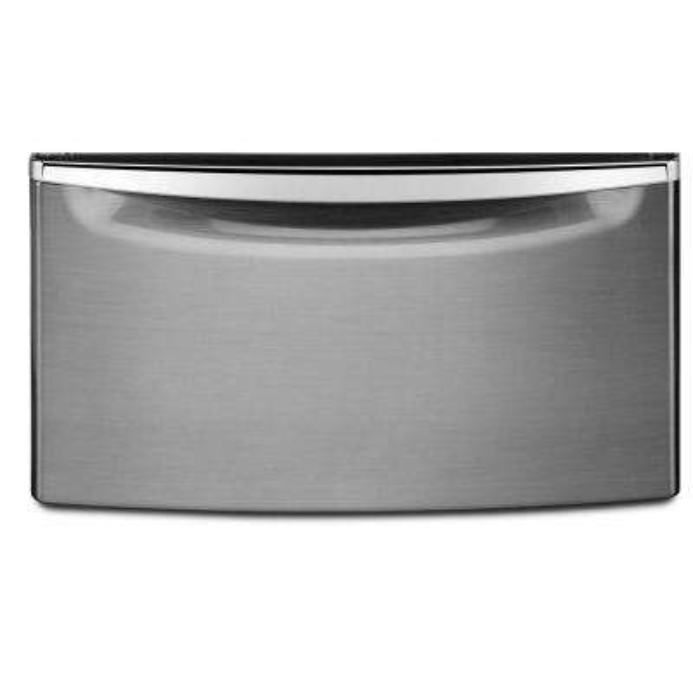 15.5 in. Diamond Steel Pedestal with Storage Drawer