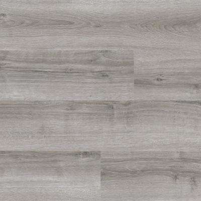 Natural Oak Warm Grey 6 in. Wide x 48 in. Length Click Floating Vinyl Plank (19.39 sq. ft./case)