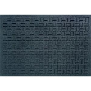 Trafficmaster Black 24 In X 36 In Recycled Rubber