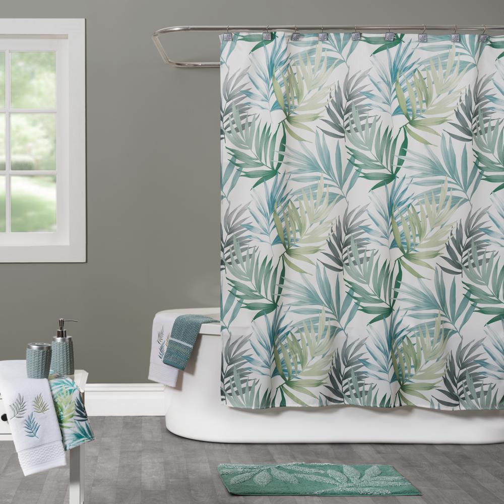 Saturday Knight Maui 72 in. Shower Curtain in Multi Color