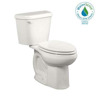 Colony 10 in. Rough-In 2-Piece 1.28 GPF Single Flush Elongated Toilet in White
