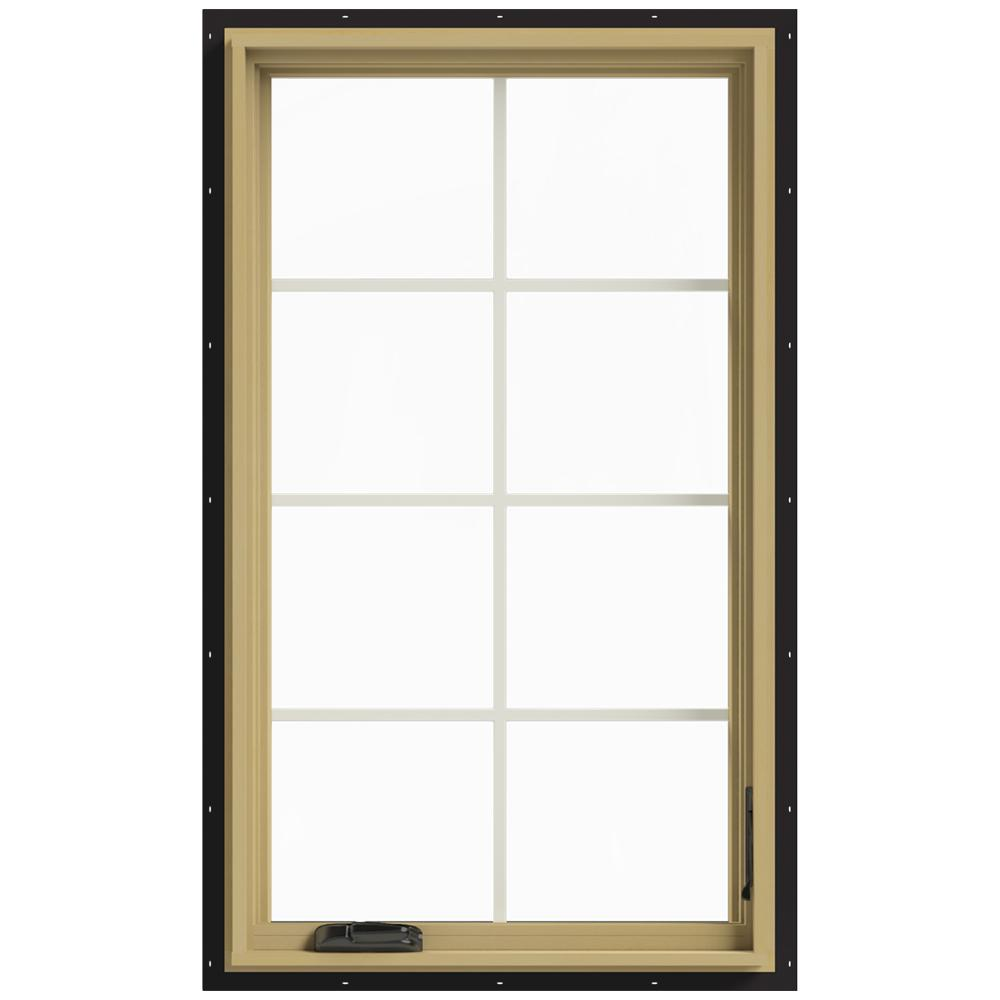 Jeld Wen 28 In X 48 In W 2500 Right Hand Casement
