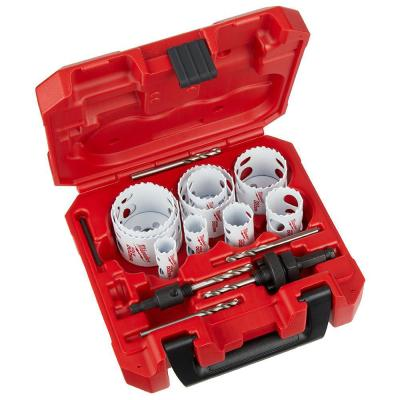 Hole Dozer General Purpose Bi-Metal Hole Saw Set (17-Piece)