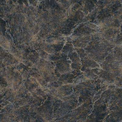3 in. x 5 in. Laminate Countertop Sample in Ebony Fusion with Premium Textured Gloss Finish