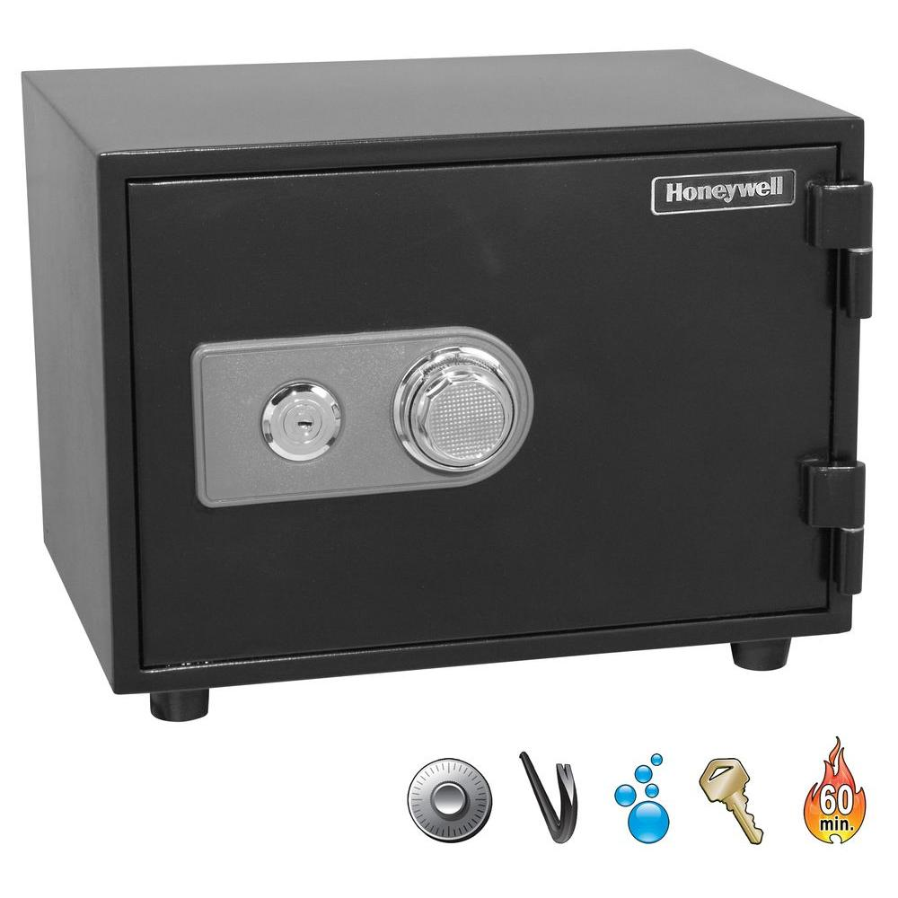 Honeywell 0.63 cu. ft. Fire Safe with Combination Dial Lo...