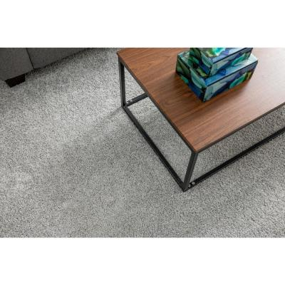 Carpet Diem - Color Cozy Taupe Residential 9 in. x 36 in. Peel and Stick Carpet Tile (8 Tiles / Case)