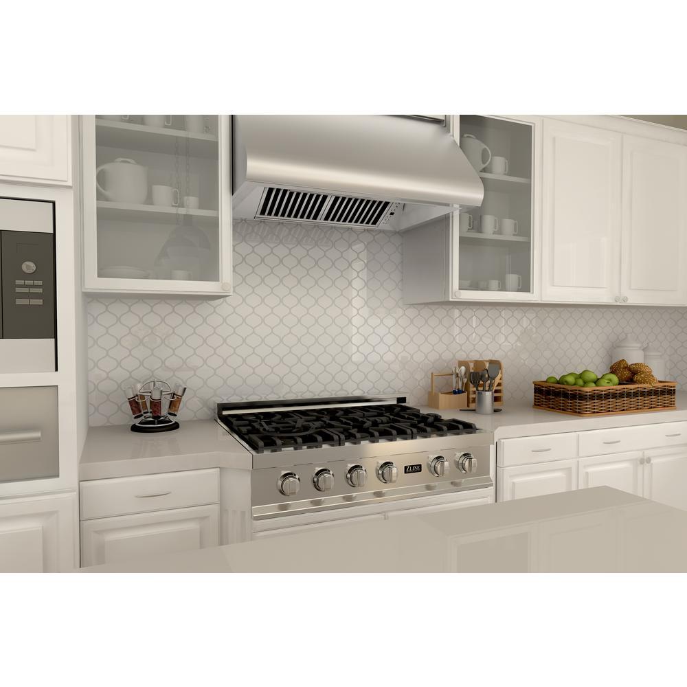 Zline Kitchen And Bath 36 In Under Cabinet Range Hood Stainless Steel 527