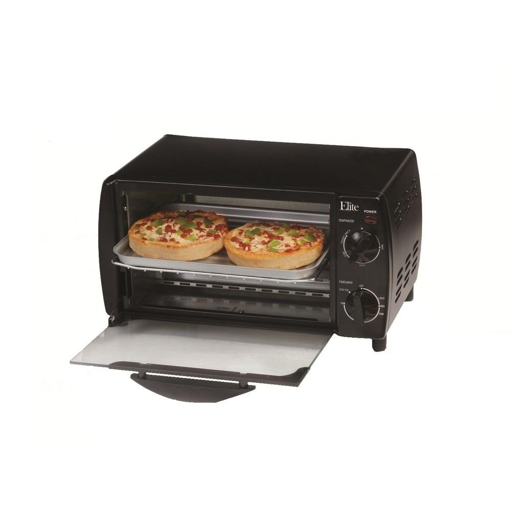 Elite 4-Slice Toaster Oven Broiler-DISCONTINUED
