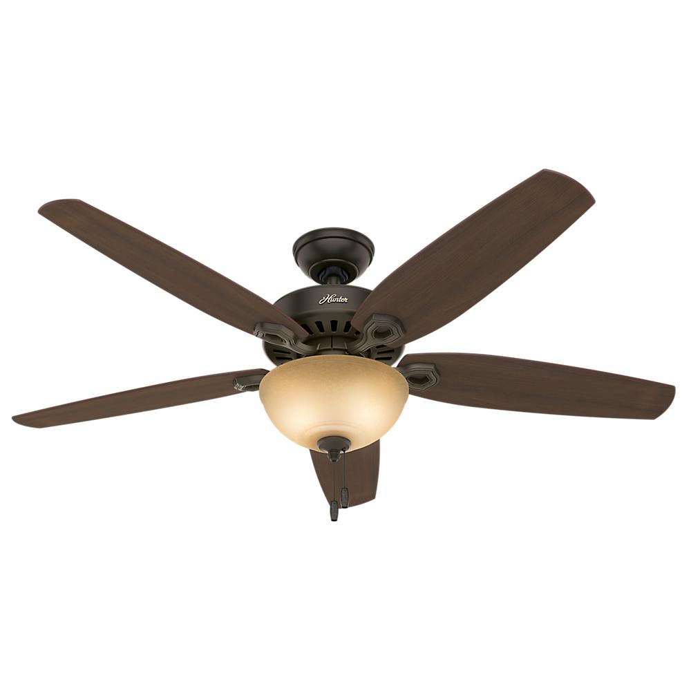 Best Ceiling Fan For Large Great Room: Hunter Builder Great Room 56 In. Indoor New Bronze Bowl