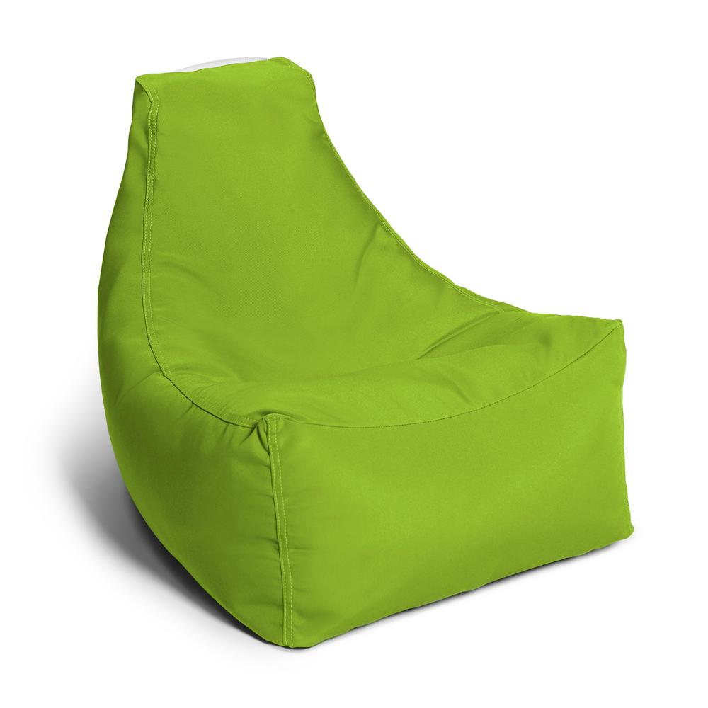 Ja Juniper Jr Lime Outdoor Kids Bean Bag Lawn Chair