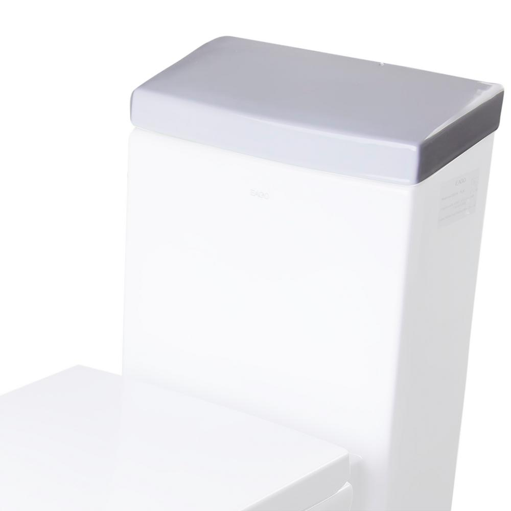 R-336LID Toilet Tank Cover in White