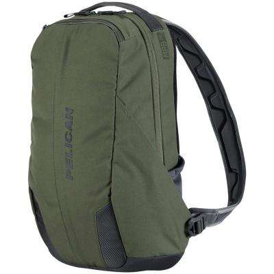 21.66 in. Green Lightweight Backpack with Water-Resistance