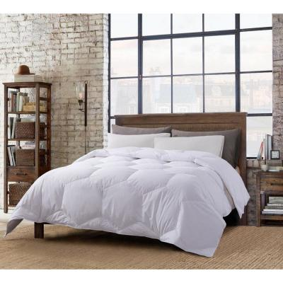 Honeycomb Stitch All Season White Full/Queen Down Comforter