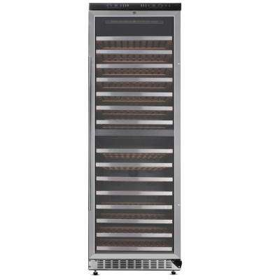 DUAL ZONE 156-Bottle Wine Cooler