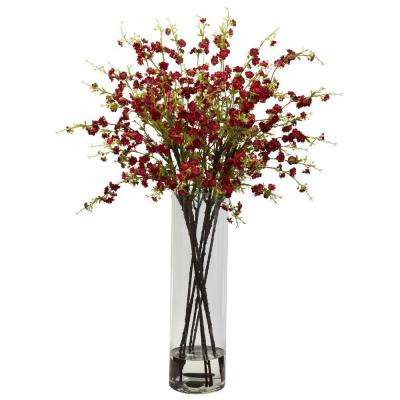 Giant Cherry Blossom Arrangement in Red