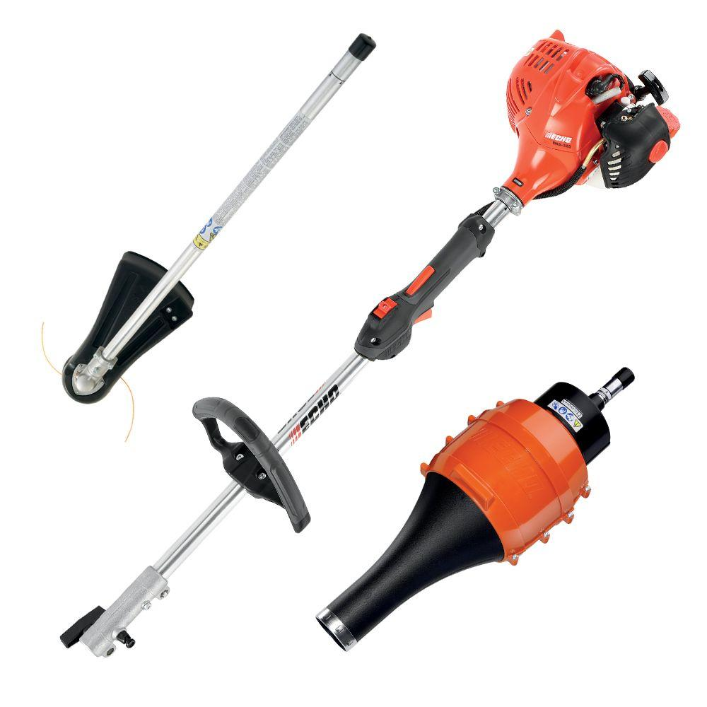 Echo pro attachment series 2 cycle 212cc gas trimmer with blower echo pro attachment series 2 cycle 212cc gas trimmer with blower attachment pas 225vpb the home depot greentooth Choice Image