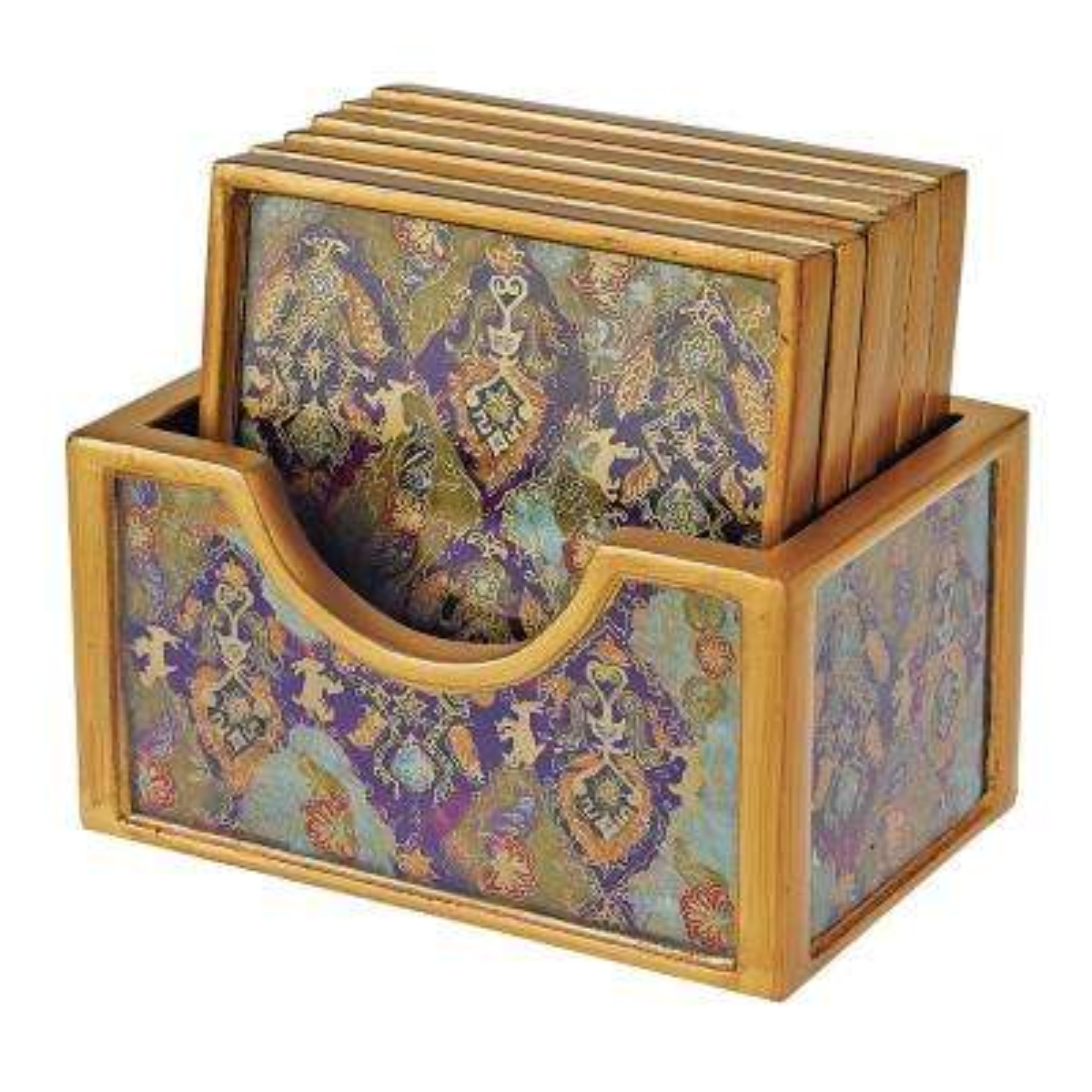 7-Piece Cabra Coaster Set