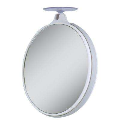 5X/10X Magnification Spot Makeup Mirror in White