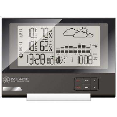 Slim Line Personal Weather Station with Atomic Clock and 164 ft. Sensor