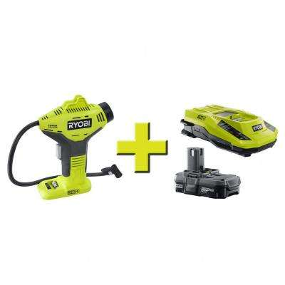 18-Volt ONE+ Power Inflator + Lithium Upgrade Kit
