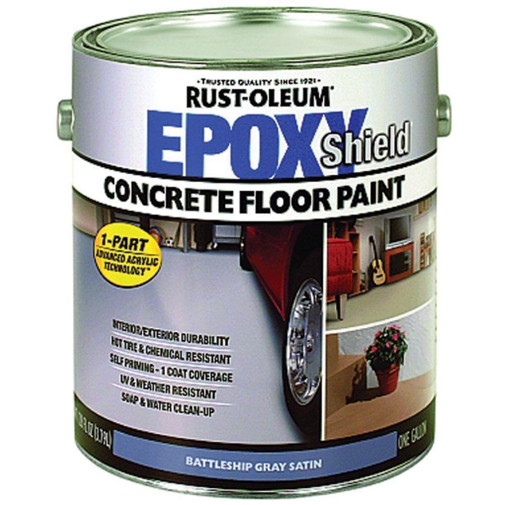 Rust-Oleum 1-gal. 1-Part Epoxy Concrete Floor Paint-DISCONTINUED