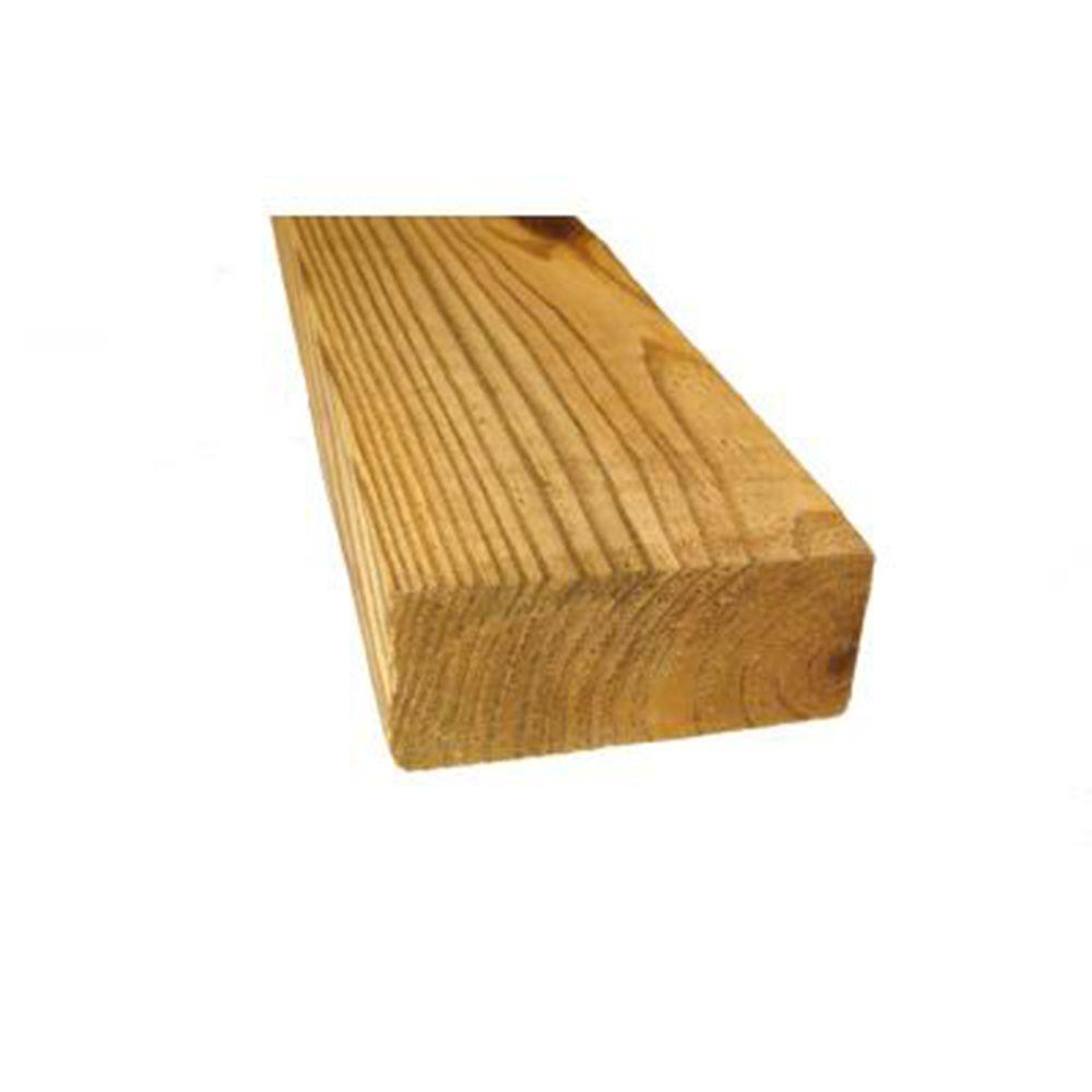 2 in. x 10 in. x 8 ft. #2 and Better Kiln-Dried Hem Fir Lumber