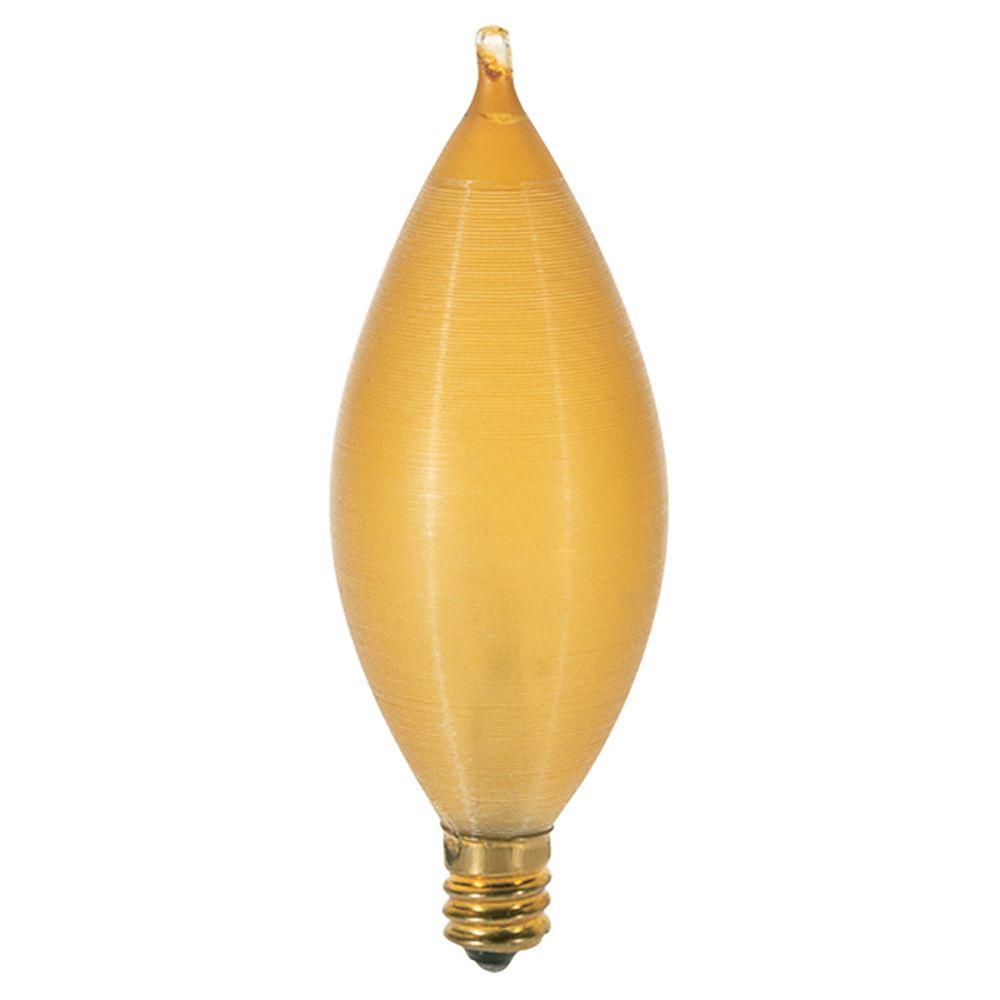 25-Watt Incandescent C11 Light Bulb (12-Pack)