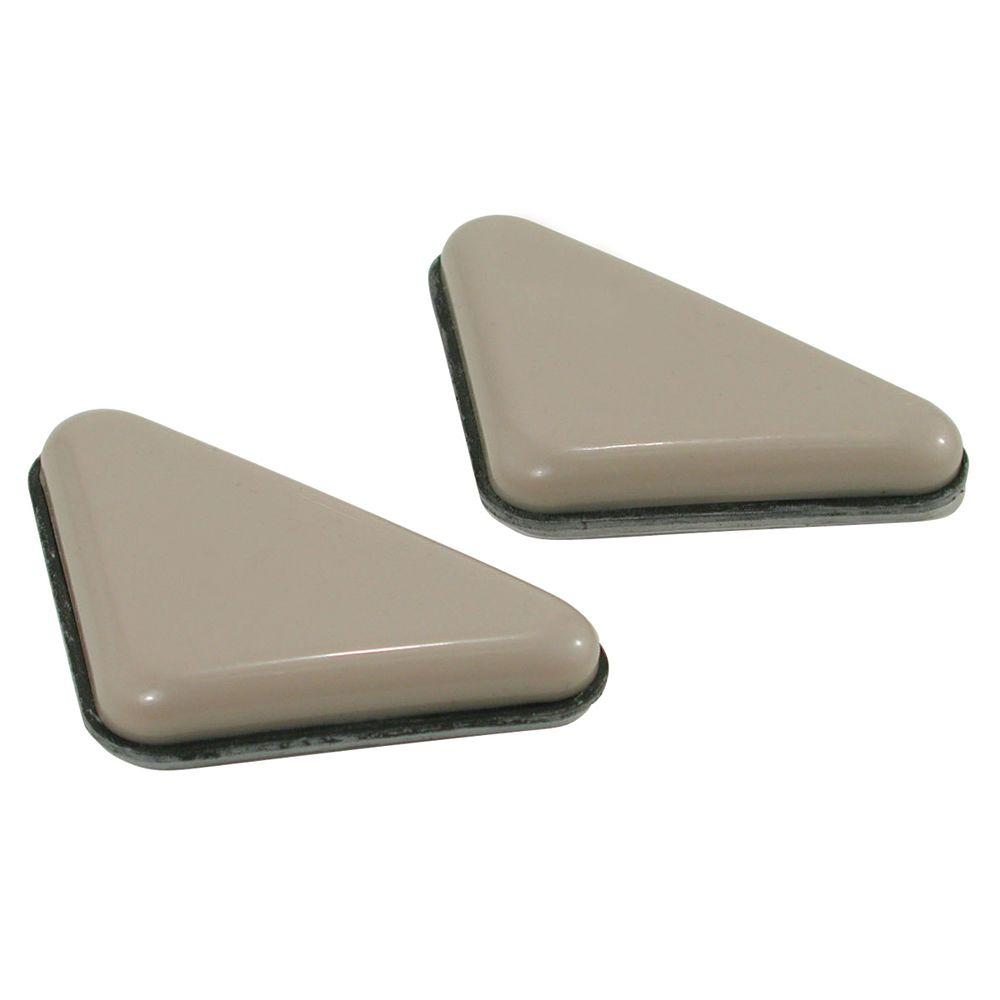 Shepherd 3/8 in. x 2 in. Triangle Furniture Glides (4 per Pack)