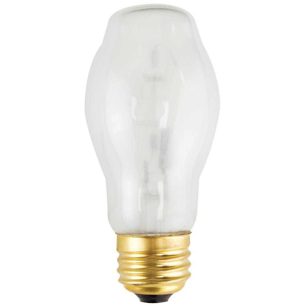 43-Watt Halogen BT15 Soft White Medium Base Light Bulb