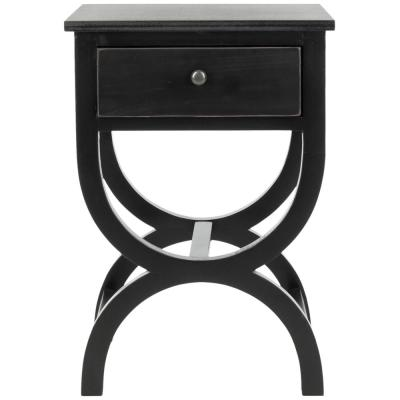 Maxine Black Accent Table
