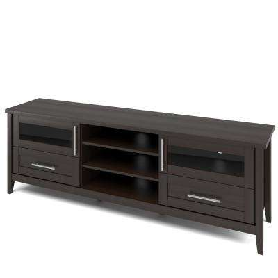 Jackson Espresso Extra Wide TV Bench for TVs up to 80 in.