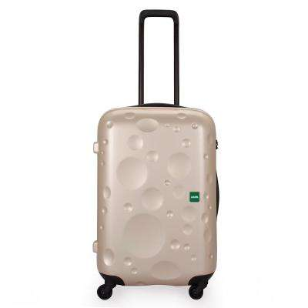 Luna 25.75 in. Champagne Hardside Spinner Suitcase