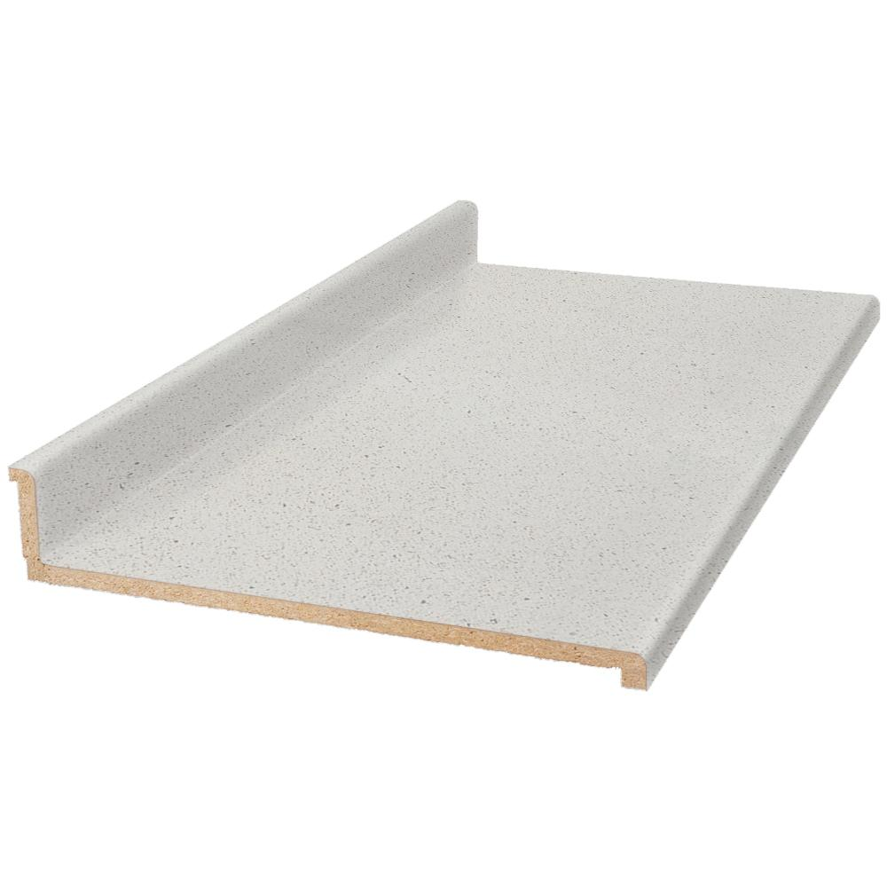 6 ft. Laminate Countertop in Sea Salt with Tempo Edge and