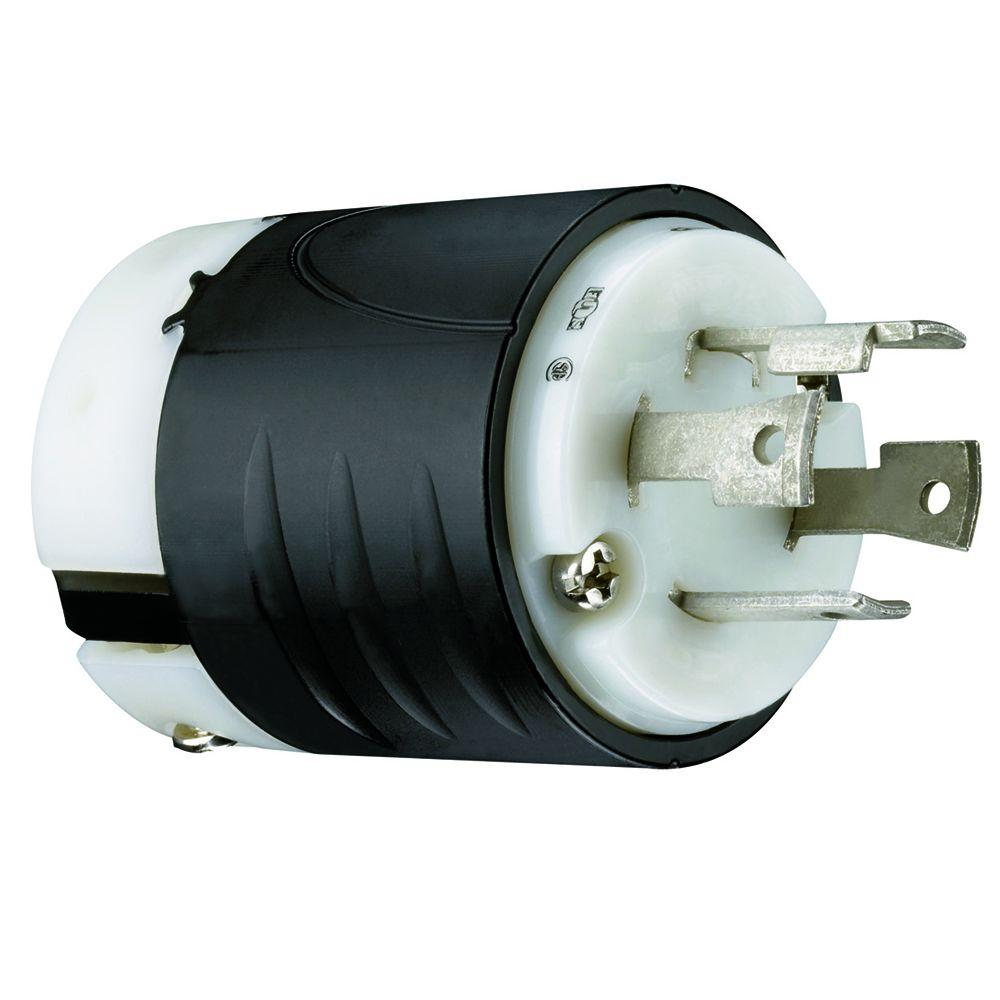 Legrand Pass and Seymour 30 Amp 125/250-Volt Grounding Plug  sc 1 st  The Home Depot : 250 volt plug wiring - yogabreezes.com