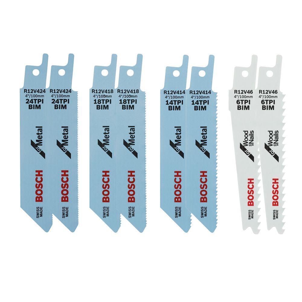 12-Volt Max Recip Blade (8-Pack)