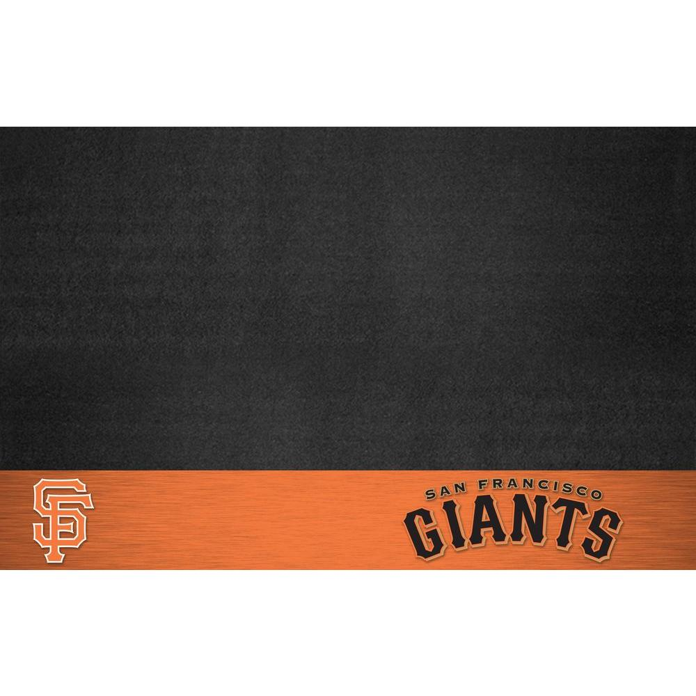 San Francisco Giants 26 in. x 42 in. Grill Mat