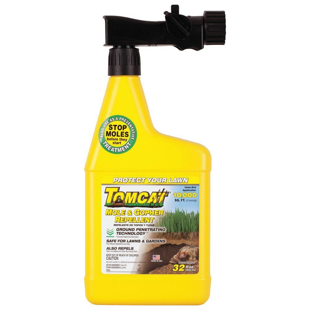 Tomcat 32 oz. Ready-to-Spray Mole and Gopher Liquid Repellent