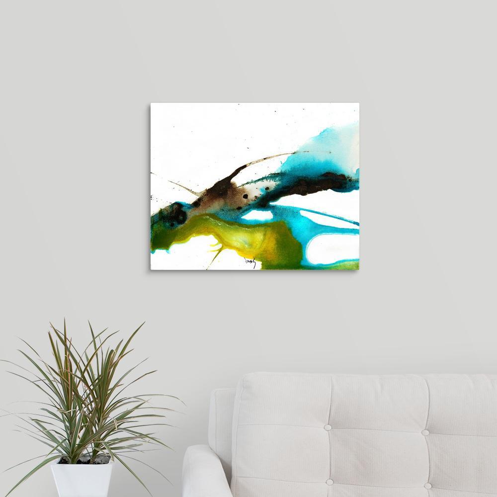 greatbigcanvas flow xx by jonas gerard canvas wall art rh homedepot com flower wallpaper paint flower wallpaper paint