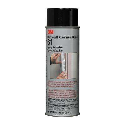 16 6 oz  Drywall Corner Bead Adhesive Spray