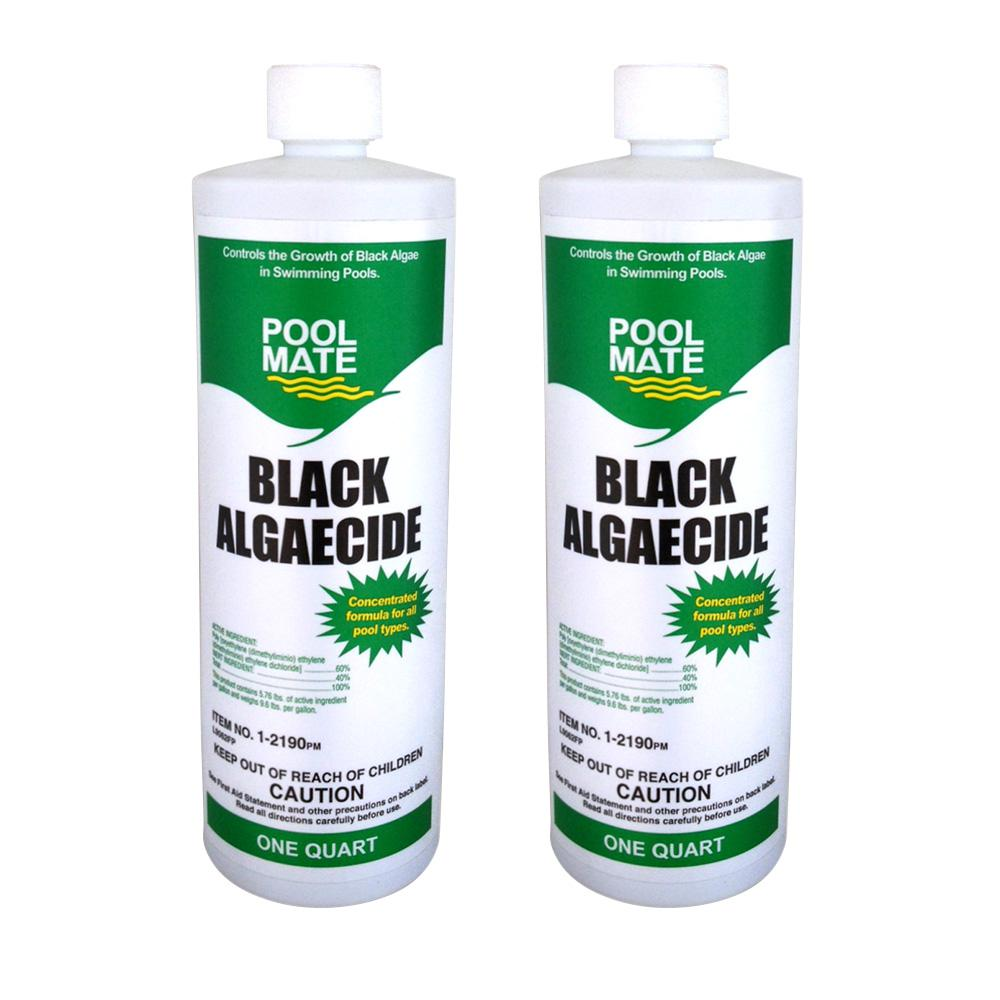 1 qt. Pool Black Algaecide (2-Pack)