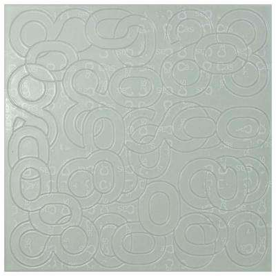 Eight Blanco 7-7/8 in. x 7-7/8 in. Ceramic Wall Tile (11.46 sq. ft. / case)