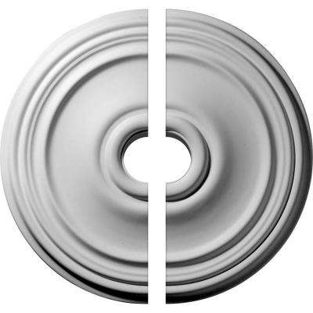 21 in. O.D. x 3-1/2 in. I.D. x 1-1/4 in. P Reece Ceiling Medallion (2-Piece)
